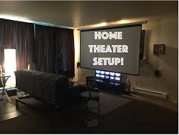 home theater room setup home theater setup 2015 youtube