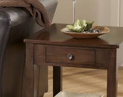 Rustic Round End Table Table Admirable Gray Wood Round End Table Frightening