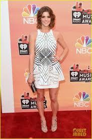 Ashley White by Ashley Greene Is White At Iheartradio Music Awards 2014 Photo