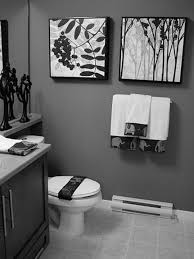 Silver Bathroom Rugs by Photos Hgtv Modern Bathroom With Black Wall And Chandelier Loversiq