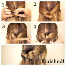 Easy Updo Hairstyles Step By Step by This Is A Cute And Summer Like Hairstyle For More Than One Length