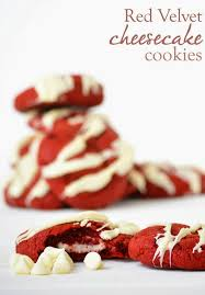 red velvet cheesecake cookies this recipe is perfect for