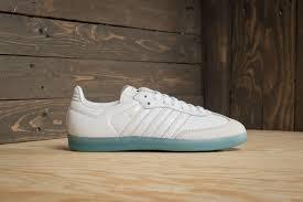 white samba adidas samba w ftw white ftw white bright cyan footshop