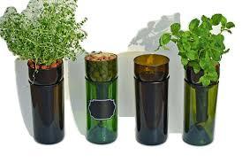 self watering indoor planters self watering hydroponic garden gift wine bottle indoor herb