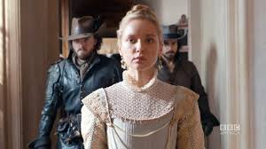 rochefort accuses queen anne of treason on the musketeers episode