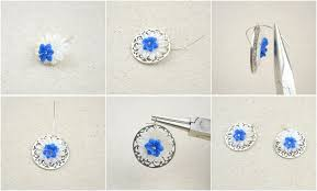 How To Make Jewelry Beads At Home - handmade handcrafted jewelry how to make shell earrings how to