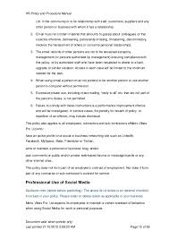 hr manual template hr and employee handbook hr and employee