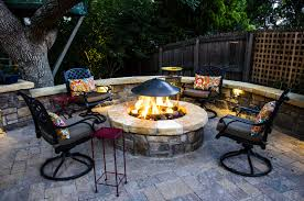 Fires In Denver by Denver Custom Outdoor Fireplace Metro Denver Co Landscape