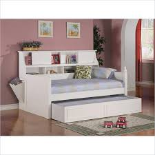 Daybed With Bookcase Headboard Queen Size Bed With Trundle Cheap Queen Bed Sets For Queen Size