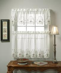 Kitchen Curtain Patterns White Kitchen Curtain Patterns How To Hang Kitchen Curtain