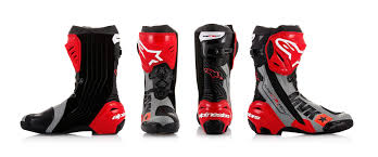 motorcycle road racing boots new product alpinestars limited edition u0027mach 1 u0027 supertech r