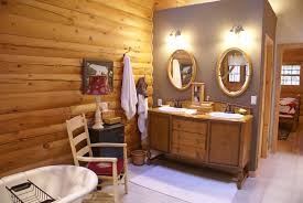 Log Home Interior Design Ideas by Log Home Bathroom Decor Bathroom Log Cabin Design Pictures