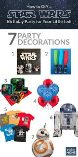 Star Wars Birthday Decorations How To Diy A Star Wars Birthday Party For Your Little Jedi U2022 The