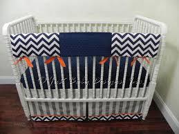 custom bumperless crib bedding teething rail babybedding