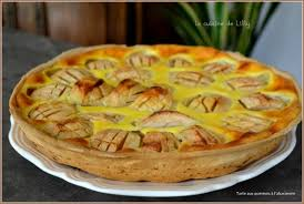 cuisine tarte aux pommes tarte aux pommes à l alsacienne la cuisine de lilly