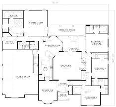 ranch style homes floor plans ranch style house plan 5 beds 4 5 baths 4303 sq ft plan 17 575