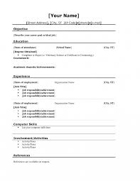 what is a cv resume exles exle high school accounting resume templates education