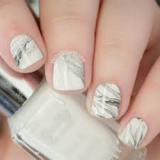 real marble nail art tutorial with a stamper the nailasaurus