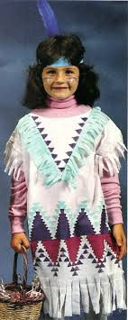pillowcase indian costume thanksgiving crafts and