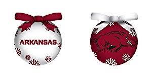 team sports america led arkansas razorbacks ornaments