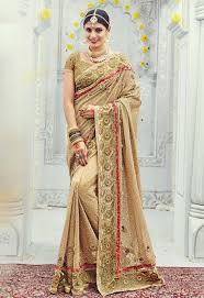 reception sarees for indian weddings sarees for reception party online germany beige reception wear saree
