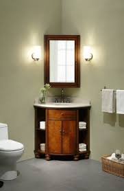 corner bathroom vanity table natural wall color with dark brown mahogany corner bathroom vanity