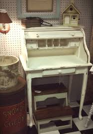 small roll top desk a small white roll top desk perfect for a small room or tight space