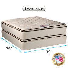 twin mattress set ebay