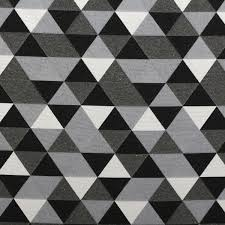 Geometric Fabrics Upholstery Double Sided Black U0026 White Jacquard Geometric Animals Curtain