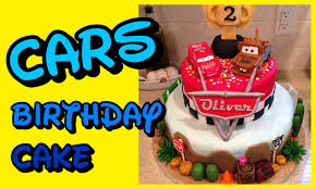 cars birthday cake disney cars theme fondant birthday cake tutorial