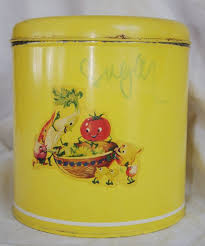 metal canisters kitchen 126 best yellow canisters images on canister sets