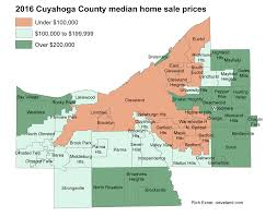 home prices up in most cuyahoga county towns in 2016 cleveland