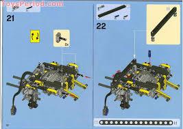 lego 8275 motorized bulldozer set parts inventory and instructions