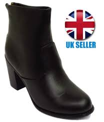 s zip ankle boots uk black ankle boots block heel chelsea zip shoes uk 3 4 5 6 7