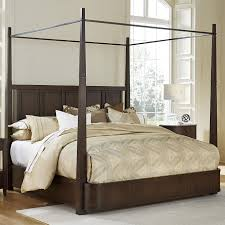 king avery metal canopy bed by fine furniture design wolf and