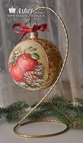 decoupage ornaments decoupage decoupage ornament