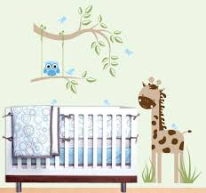Nursery Wall Mural Decals Nursery Wall Mural Decals Baby Room Attractive Picture Of Baby
