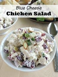 easy blue cheese chicken salad quick and delicious