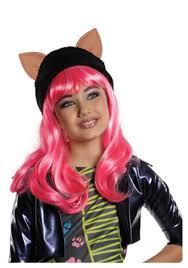 Halloween Costume Monster High by Monster High Howleen Child Wig