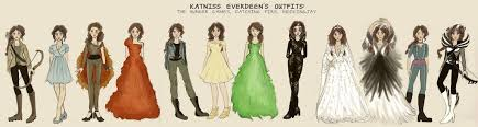 Katniss Everdeen Costume Katniss Everdeen U0027s Through The Series By Xxignisxx On