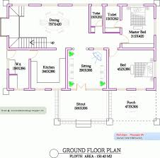 Kerala Home Plan Single Floor 4 Bedroom Single Floor House Plans Simple Bedroom Floor Plans