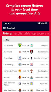 epl table fixtures results and top scorer get epl football microsoft store en ca