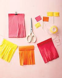 tissue paper streamers 15 fantastic ideas martha stewart cinco de mayo and de mayo