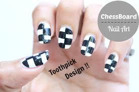 chess board nail art design youtube