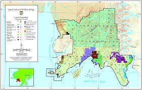 Alaska Map In Usa by Refuge Map Togiak U S Fish And Wildlife Service