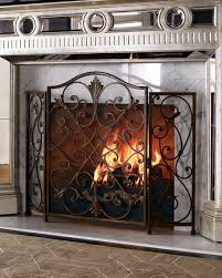 ambella valencia fireplace screen