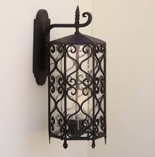 wrought iron light fixtures light fixtures