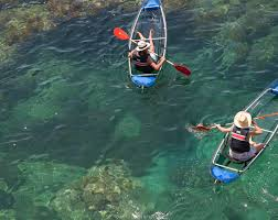 clear kayak kayak guided tour from s agaró