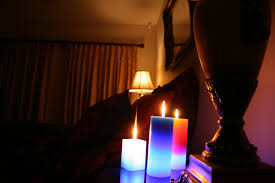 Light The Bedroom Candles Romantic Bedrooms With Candles