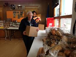 thanksgiving brief history thanksgiving food boxes given to 88 needy families kfsk